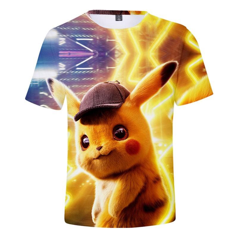 T-shirt Pokémon Détective Pikachu