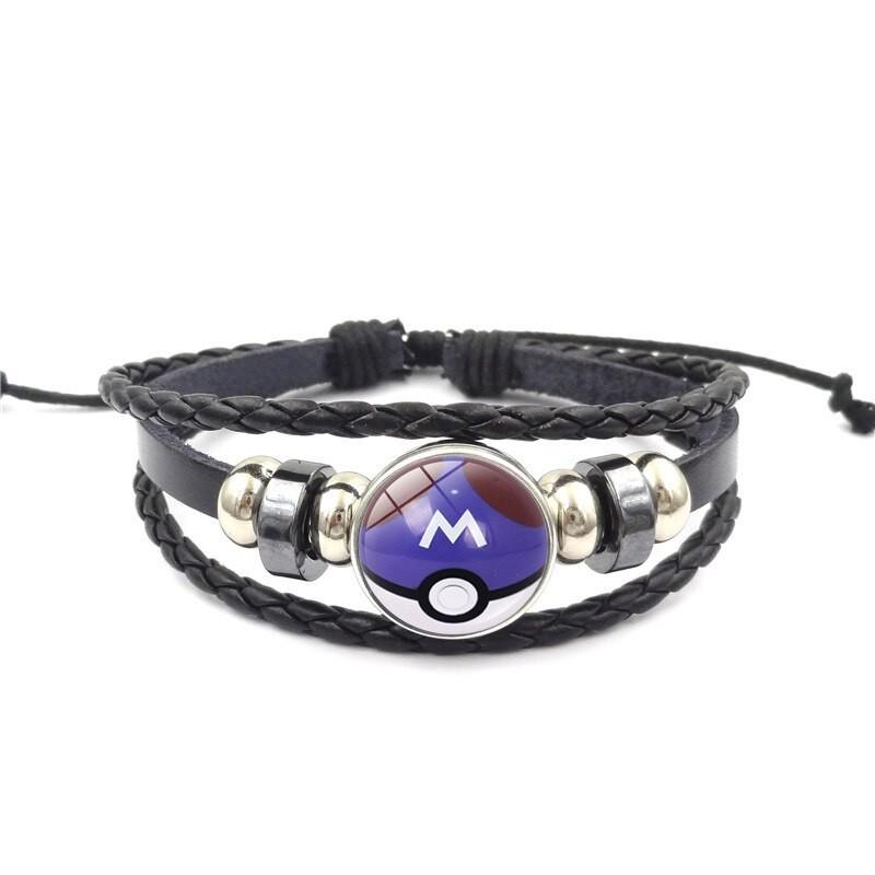 Bracelet pokéball Master Ball